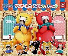 One Piece Bandai Nyan Piece Mascot Mini Figure Collection