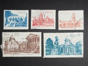 South Africa: Architecture selection; fine used (b)