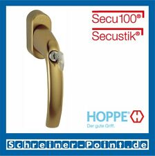 Hoppe Atlanta Fenstergriff abschließbar F4 Bronze 0530S/US952 100Nm 7/32-42 mm
