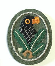 GERMAN ARMY SNIPERS BADGE 2.nd Class SLEEVE arm badge