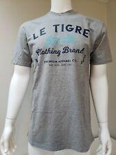 NWT Men's Le Tigre Logo Short Sleeve T-Shirt Size M Gray
