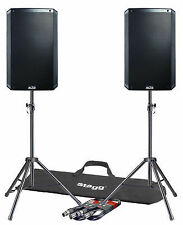 """2x Alto Ts315 15"""" Powered Active 2000w DJ PA Speaker or Monitor Covers"""