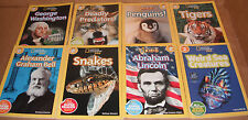 Lot of 8 National Geographic Readers Books Level 2 Paperback NEW