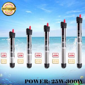 Submersible Aquarium Eco Heater 25W 50W 100W 200W 300W Fish Tank Thermostat AU