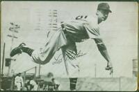 Original Autograph JSA of Lou Kretlow of the Detroit Tigers