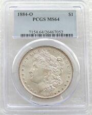 1884-o ESTADOS UNIDOS Morgan $1 Uno Dólar Moneda de Plata MS64 Nuevo Orleans