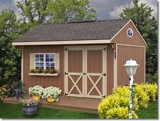 Best Barns Northwood 10x10 Wood Storage Shed Kit - All Pre-Cut