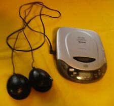 Lenoxx Sound 2000 Cd Programmable Compact Disc Player Model Cd-50 w/Head Phones