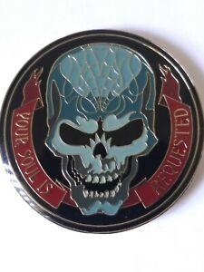 2017 Halloween Horror Nights SUPER RARE Parade Coin medallion #27