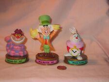 McDonald's Disney 100 Years Of Magic; Mad Hatter, Cheshire, White Rabbit Figure