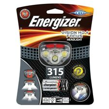 Energizer Vision HD+ Focus Headlight with 3 x AAA Energizer Max batteries