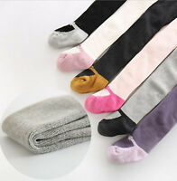 Girl Baby Kid WINTER Warm Thermal Fleece Bottoms bow Tights Stockings