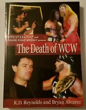 THE DEATH OF WCW BOOK - ECW PRESS - 2004