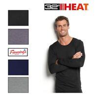 32° Degrees Heat Mens Weatherproof Long Sleeve base layer Crewneck Shirt S - XXL