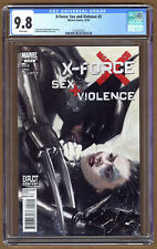 Marvel X-Force Sex and Violence Comic #2 CGC 9.8 Dell'Otto Wolverine NM+/MT