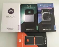 Motorola moto z XT1650-03 32GB blanc/or sans sim + moto mods bundle rrp £ 960