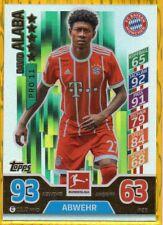 "David Alaba (Bayern München) Match Attax BL 2017/18 - ""PRO 11 - Sonderkarte"" !!!"