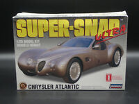 SUPER-SNAP ULTRA CHRYSLER ATLANTIC LINDBERG 1:25 SCALE SEALED PLASTIC MODEL KIT
