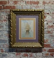 William Stanley Haseltine -Sailboat at Sea - 19th century Painting