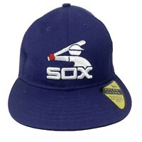 New Era MLB 59Fifty CHICAGO WHITE SOX Heritage Retro 5950 Fitted Hat 7 1/2