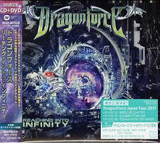 DRAGONFORCE-REACHING INTO INFINITY-JAPAN CD+DVD BONUS TRACK Ltd/Ed H20