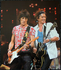 THE ROLLING STONES POSTER PAGE 2005 BOSTON KEITH RICHARDS & RON WOOD . Y115