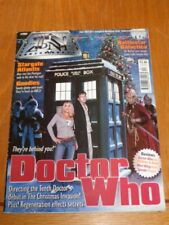 TV ZONE #197 STARGATE ATLANTIS DOCTOR WHO BATTLESTAR GALACTICA UK MAGAZINE =