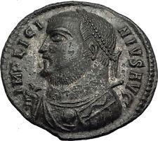 LICINIUS I 317AD Original Authentic Ancient Roman Coin JUPITER VICTORY i64912