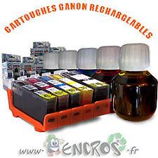 RECHARGEABLE Pack de 5 Cartouches Rechargeables CANON CLI8/PGI5