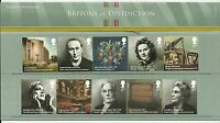 GB Presentation Pack 467 2012 BRITONS OF DISTINCTION