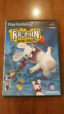 Rayman Raving Rabbids (Sony PlayStation 2, 2006) VERY GOOD COMPLETE! MAIL TOMORR