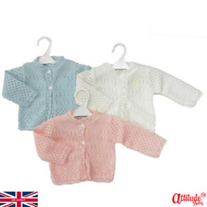 Premature Baby Cardigans-3-5 lbs & 5-8 lbs-Knitted Baby Cardigans-Preemie Baby
