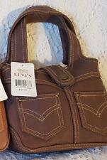 Levi's  Leather  Handbag medium Brown