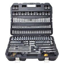 Dewalt 192 Piece Mechanics Tool Set Carry Case Box Hand Tools Kit Socket Ratchet