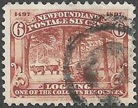 Newfoundland Scott Number 66 VF Used