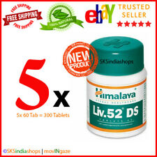 5x Himalaya Herbal Liv.52 DS 60 Tablets Liver Care EXPIRY OCT2022