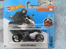 HOT WHEELS 2017 #187/365 DUCATI 1199 PANIGALE noir HW MOTO