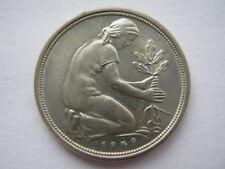 Sehr schöne 50 Pfennigmünzen der BRD (1949-1950)