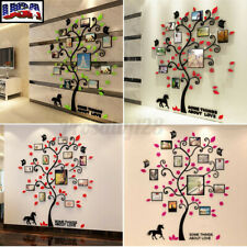 Family Photo Frame Picture Tree Wall Sticker Living Room Decals DIY Home Decor