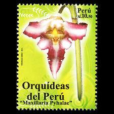 """Peru 2011 - Endangered species """"Orchids"""" Flora - Sc 1783 MNH"""