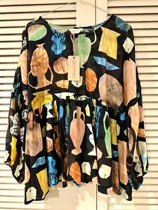 "New! Versatile GORMAN ""Urn You Keep"" Blouse top * size 14"