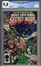 Marvel Super Heroes Secret Wars #6 CGC 9.8 NM/MT WHITE PAGES