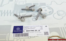 Mercedes benz  Automatic Transmission Oil Pan Bolt Set of 6 0049903512