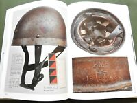 """BRITISH AIRBORNE HEADDRESS"" WW2 D-DAY PARATROOPER JUMP HELMET REFERENCE BOOK"