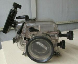 Vintage 1970's IKELITE SLR 300' underwater camera case for Nikon Canon Konica