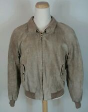VINTAGE Abercrombie & Fitch Suede A-1 Leather Bomber Jacket XL