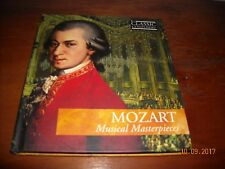 Mozart Musical Masterpieces CD and Booklet FREE SHIPPING.