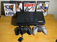 New listing Sony Playstation 2 Ps2 Console and Controllers Tested! 4 Game Lot Bundle W/ cord