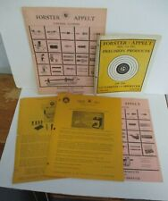 Lot of 5 FORSTER APPELT Products For The Gunsmith & Shooter Advertising Pieces