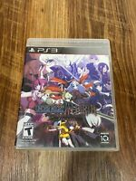 Under Night In-Birth Exe:Late (Sony PlayStation 3, 2015) No Manual